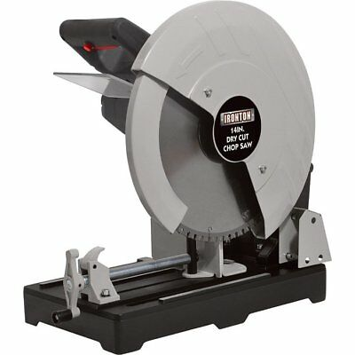 FREE SHIPPING - Ironton Dry Cut Metal Saw - 14in., 15 Amps, 1450 RPM