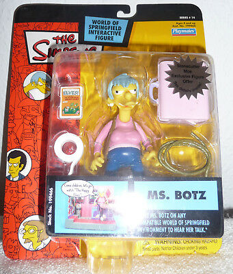 MS. BOTZ The Simpsons Series 14 World Of Springfield Interactive Action Figure