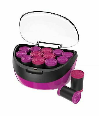 Remington Ceramic Jumbo Curls Electric Hair Rollers - 12 Piece Set - H5670