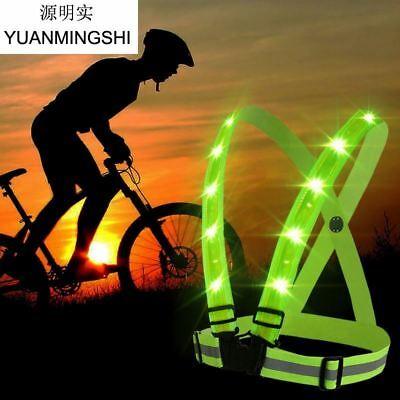 High Visibility Reflective Safety Vest Fit For Adults & Children Running Cycling