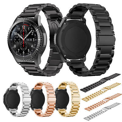 Stainless Steel Watch Band Strap/Glass For Samsung Gear S3 Frontier/Classic