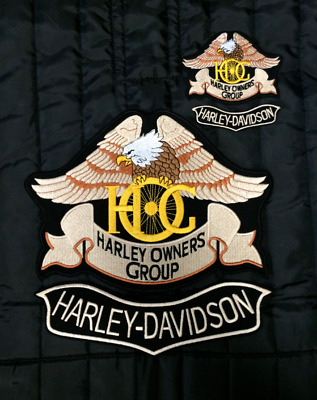 PATCH TOPPE HARLEY DAVIDSON HOG DA SCHIENA bikers sportster bagger dyna softail