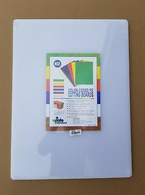 """New UPDATE CB-1824 Commercial PE Cutting board 18"""" X 24"""" X 1/2"""" NSF"""