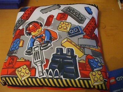 Official Lego City Demolition Reversible Cushion