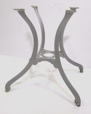 Vintage Ornate Heavy Cast Iron Industrial Table Chicago Hardware Foundry