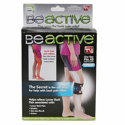 Be Active The Wrap For Back Pain Relief One Size Fits All Adjustable Unisex - AS