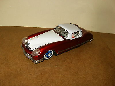 ancien jouet tôle / vintage tin toy - VOITURE SPORT CAR - MF 753 - Made In China