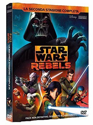 DVD STAR WARS REBELS 2 STAGIONE (4 ) Lucasfilm animation Buena Vista Nuovo