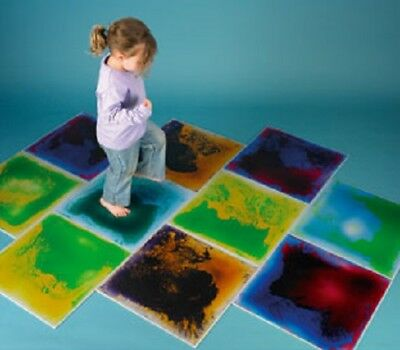 Sensory Room Tactile Colour Change Floor Mat Sections Autism Asperges Adhd Play