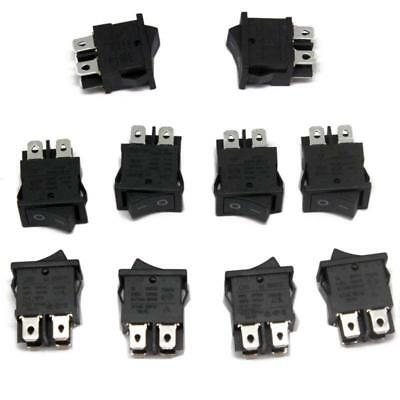 10 units brand New RS601B ROCKER SWITCHES 6(4)A 250VAC 6A/125A 250VAC