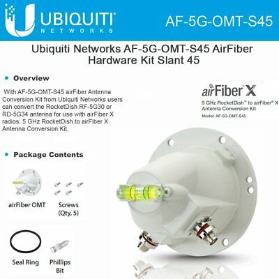 Ubiquiti AF-5G-OMT-S45 5GHz airFiber Conversion Kit Slant 45