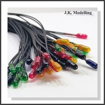 Grain of Wheat Bulbs 3mm - 12v in 4 Colours (10pcs)