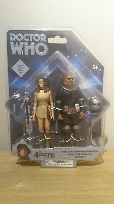 Doctor Who Leela and Commander Stor from The Invasion of Time Set