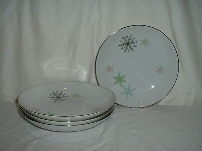 Lot 4 Vintage Harmony House Snowflake Soup Bowls 2 Lots Available