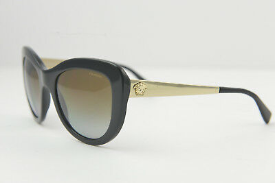ffa74d841ff5 23 VERSACE MOD 4325-A GB1 87 Black Gray Gold Polarized Sunglasses 54 ...