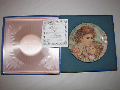 Edna Hibel Cora and Linda 2003 Mother's Day Edition