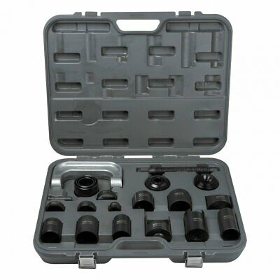 21pc Ball Joint Press Tool & Adapter Set | C-Frame GM Ford Dodge Repair Kit