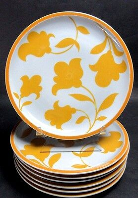 (6) Block Hearthstone Ginger Dinner Plate(s) ~ VISTA ALLEGRE PORTUGAL