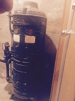 Antique Ruud Tankless Water Heater 1900-1910