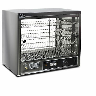New Commercial Pie Food Warmer Display Cabinet 304 Satinless Steel