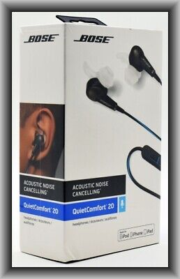 Bose QuietComfort 20 ( IOS ) Acoustic Noise-Cancelling In-Ear Headphones, New