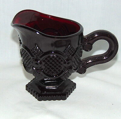 "Avon CAPE COD RED *4"" CREAMER*"