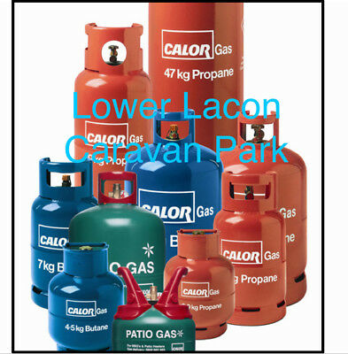 Calor Gas Bottle Refill Please Select Size Collection Only Open 7 Day