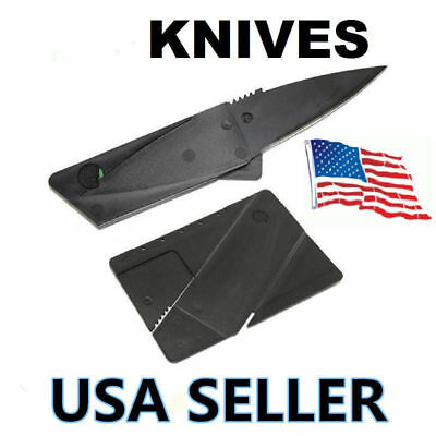 Credit Card Knives Lot Folding Wallet Thin Pocket Survival Micro Knife