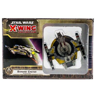 Star Wars X-Wing Miniatures Game: Shadow Caster Expansion Pack. Fantasy Flight.