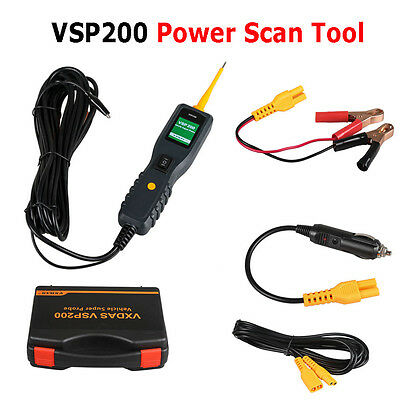 New VXDAS VSP200 Power Scan Tool Electrical System Circuit Tester 12-24 V