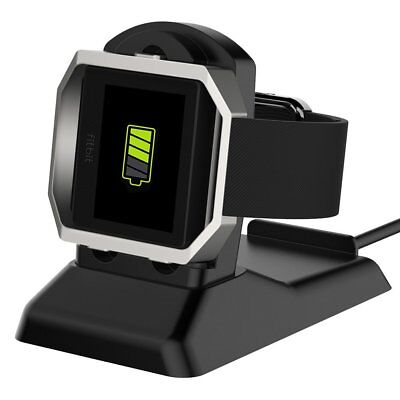Simpeak 2 in 1 Replacement Charging Stand with USB Cable for Fitbit Blaze