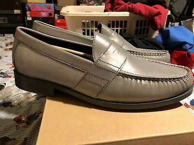 1cddab5de82 Very Rare Cole Haan Mens Monroe Penny Loafer Reflective Silver 3M C11173  11.5