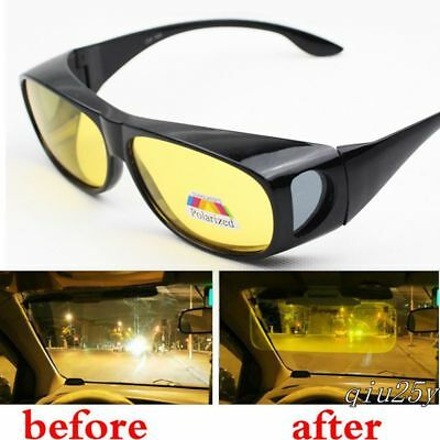 HD Night Sight Driving Vision Glasses Driving Polarized Anti Glare Sunglasses