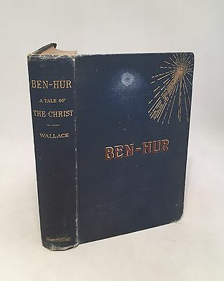 Ben-Hur-Lew Wallace-VERY RARE TRUE First/1st Edition/Early Printing!!-1880!!-HC