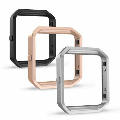 For Fitbit Blaze Watch, Simpeak [3 Pcs] Stainless Steel Replacement Frame, 3 col