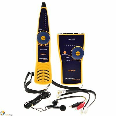 PN-F Wire Tracker Toner and Probe Network Cable Tester Fluke Style RJ11 RJ45