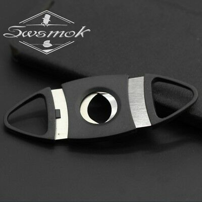 cigar cutter stainless steel new cut double v black guillotine blades blade spli