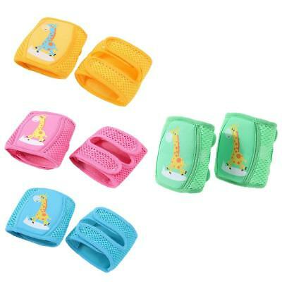 Kids Safety Crawling Elbow Kneepads Infants Toddlers Baby Knee Pads Protector