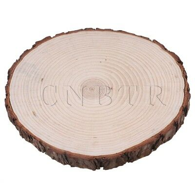 25cm-30cm Wooden Slices Round Log Discs for Arts & Crafts & Ornaments