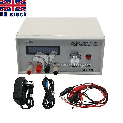 Electronic Load Power Aviation Mode Battery Discharge Capacity Tester 200W UK