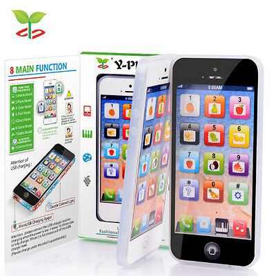 US Child Baby Simulator Music Cell Phone Touch Screen Educational Learning Toy