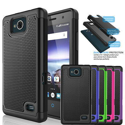 new york b4f00 608c2 FOR ZTE MAJESTY Pro/ZTE Majesty Pro Plus Phone Case Hybrid Shockproof Hard  Cover