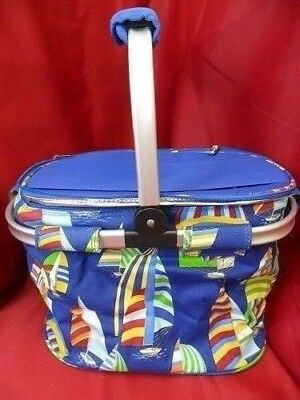 Picnic Plus Shelby Collapsible Thermal Foil Insulated Market Cooler Tote