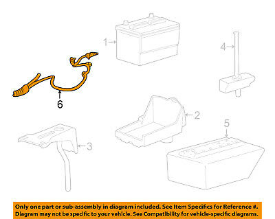 FORD OEM 05 06 Mustang Battery Cable 4R3Z14300AA ford oem 05 06 mustang battery cable 4r3z14300aa $66 68 picclick