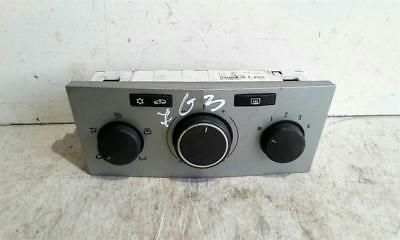 Vauxhall Zafira 2005 To 2010 Heater Control Assembly