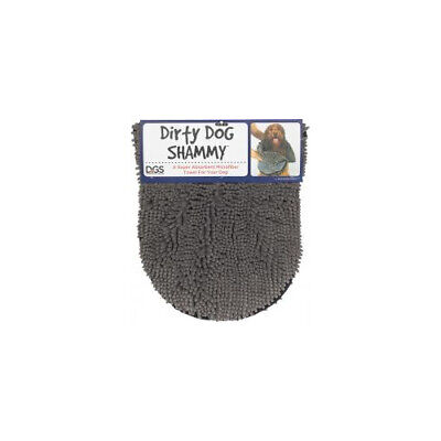 Nano Pet Products Dirty Dog Shammy Grey 33x79cm