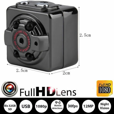 Versteckte Kamera Sq8 Mini Video Recorder Überwachung Auto Camera Full Hd 1080P