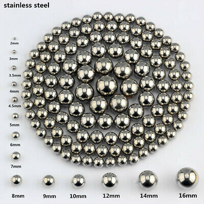 Lots Bearing Balls High Quality  Stainless Steel Precision  2MMTO12MM 10-1000PCS
