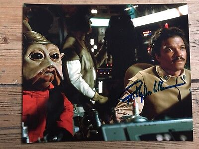 Star Wars Autogramme Billy Dee Williams  (Lando), original in Person