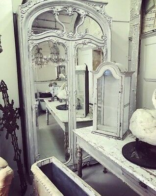 Stunning 19th Century Armoire, Carved French/Parisian, Mirrored, Rare,